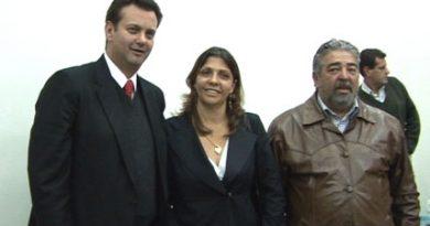 Truck: Neusa Fêlix e prefeito Kassab se encontram em São Paulo