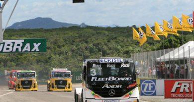 Truck: Geraldo Piquet vence e assume a liderança do campeonato