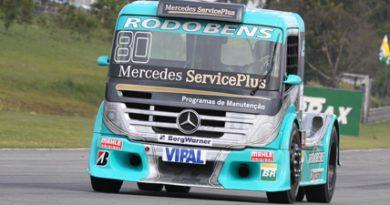 Truck: Vinicius Ramires tem atuação prejudicada e resultado favorecido pela chuva em Curitiba