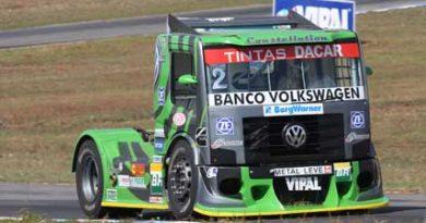 Truck: Valmir Benavides vence em Goiânia