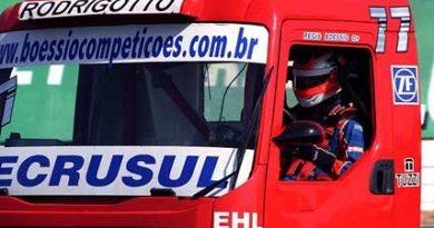 Truck: Régis Boessio terá motor novo em Fortaleza (CE)