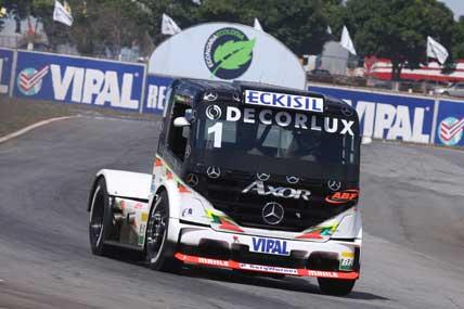 Truck: Motor tira o 2º lugar de Cirino em Goiânia