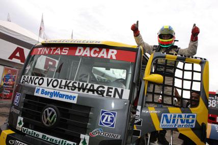 Truck: Giaffone favorito, larga na pole em Caruaru