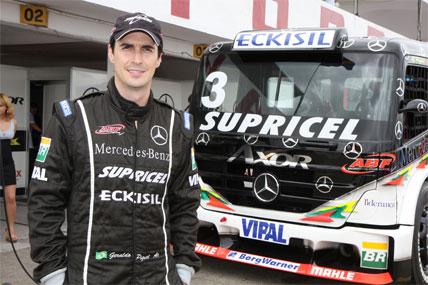 Truck: Mercedes-Benz de Geraldo Piquet passa por revisão após as etapas do nordeste
