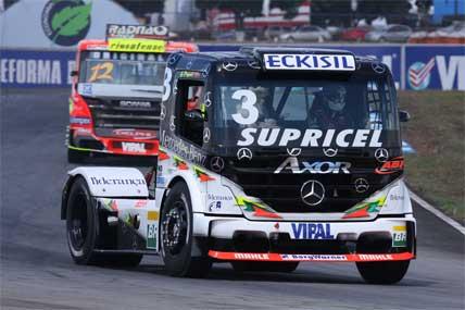 Truck: Problema no pneu tira chance de pódio de Geraldo Piquet em Goiânia