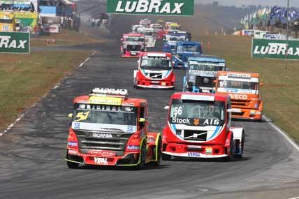 Truck: Leandro Reis conquista seu primeiro pódio na categoria