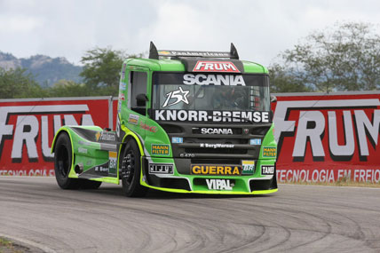 Truck: Roberval satisfeito com preparação para a quarta etapa em Goiânia