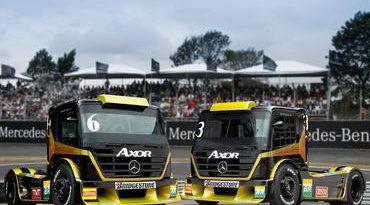 Truck: ABF Mercedes-Benz apresenta novo caminhão para a Fórmula Truck