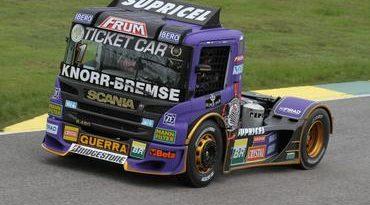 Truck: Categoria finaliza sexta-feira com Andrade, Giaffone e Dirani na frente