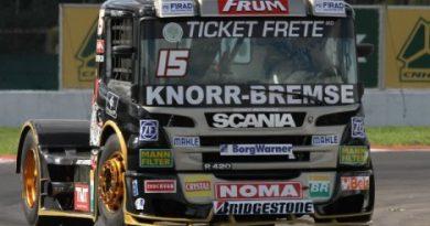 Truck: Roberval Andrade domina primeiro dia de treinos livres no Velopark