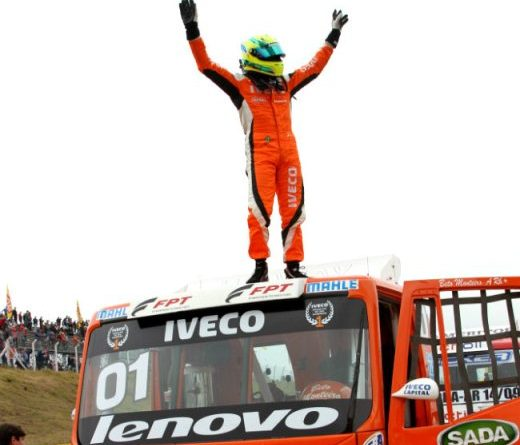 Truck: Beto Monteiro volta ao topo do pódio em Santa Cruz do Sul
