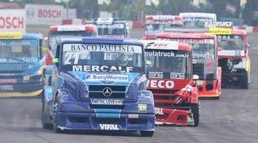 Truck: Alvo atingido na primeira etapa da competição