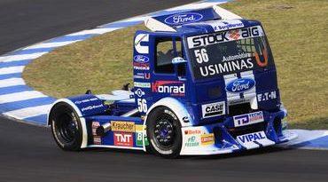 Truck: Danilo Dirani e Ford Racing Trucks conquistam pole em Londrina