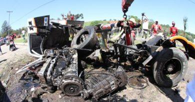Truck: Diumar Bueno sofre fraturas nas pernas e no braço em Guaporé