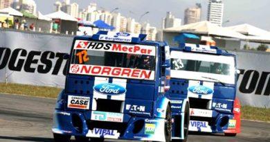 Truck: Djalma Fogaça e Ford largam da primeira fila em Goiânia