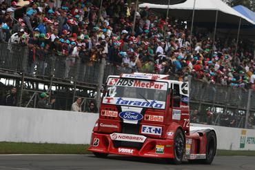 Truck: Djalma Fogaça larga na sexta fila em Brasília