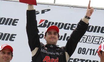Truck: Piquet vence e volta a liderar