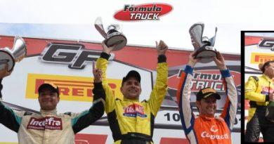 Truck: Felipe Giaffone é tetracampeão da F Truck