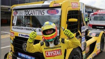 Truck: Felipe Giaffone marca a pole em Curitiba