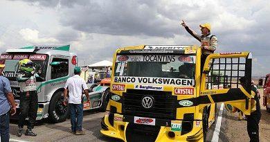 Truck: Felipe Giaffone ganha duas vezes na Fórmula Truck