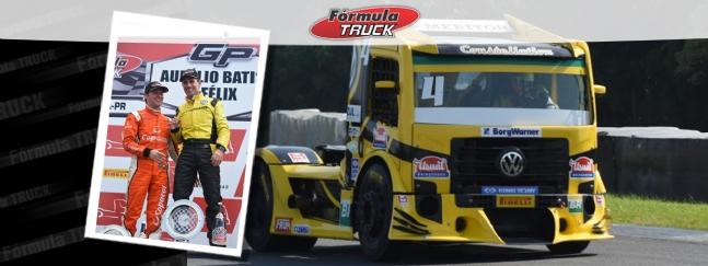 Truck: Giaffone ganha mais uma