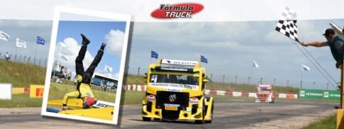 Truck: Felipe Giaffone vence na abertura da Fórmula Truck