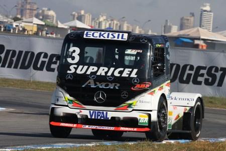 Truck: Problema nos freios e punição colocam Geraldo Piquet no final do grid