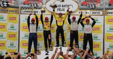 Truck: Felipe Giaffone ganha mais uma na Fórmula Truck
