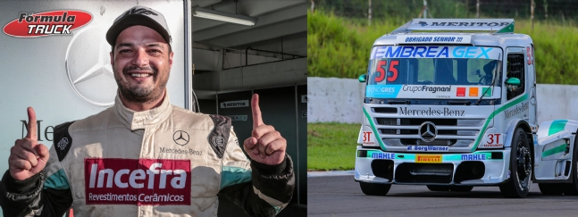 F-Truck: Salustiano domina treinos e faz a pole em Londrina