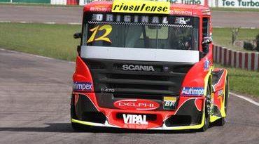 Truck: Equipe goiana treina visando prova em Fortaleza