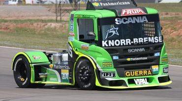 Truck: Roberval é o mais rápido na em Sta. Cruz do Sul
