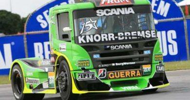 Truck: Felipe Giaffone conquista pole-position na segunda etapa da Truck em Goiânia