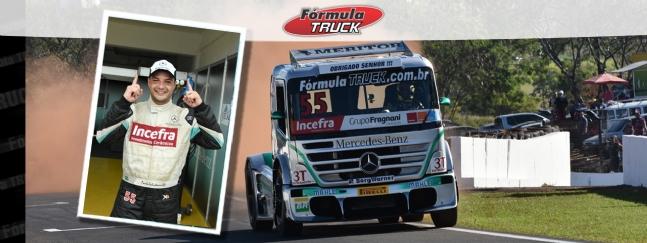 Truck: Paulo Salustiano larga na pole em Londrina