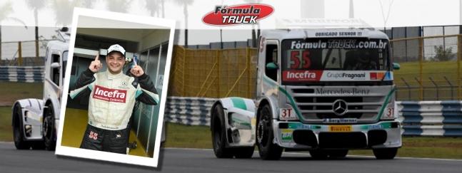 Truck: Paulo Salustiano faz a pole position da Truck em Goiânia