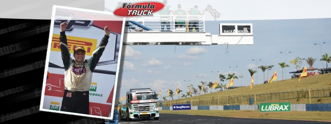 Truck: Paulo Salustiano vence a Fórmula Truck em Goiânia