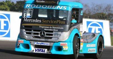 Truck: Estouro de pneu põe fim à participação de Ramires na etapa da Truck em Interlagos
