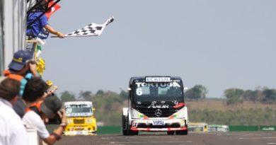 Truck: Cirino vence em Campo Grande e passa a ser o novo líder do campeonato