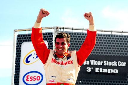 Copa Vicar: Júlio Campos vence a terceira etapa da Copa Vicar, em Santa Cruz do Sul