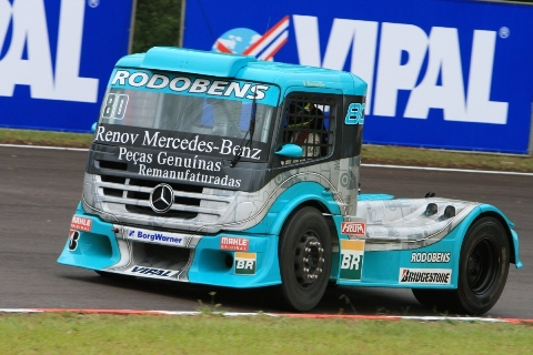 Truck: Renato Martins é o mais rápido na Formula Truck em Guaporé