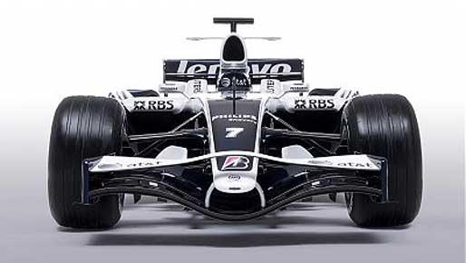 F1: Williams mostra cores para a temporada 2008