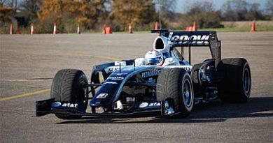 F1: Williams testa pacote aerodinâmico para 2009