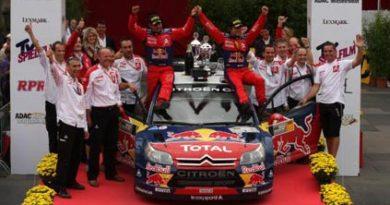 WRC: Sébastien Loeb vence Rally da Alemanha