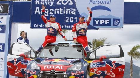 WRC: Sébastien Loeb vence pela sexta vez na Argentina