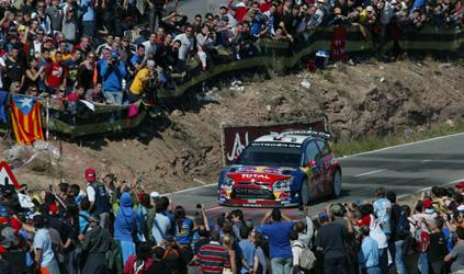 WRC: Sébastien Loeb vence na Catalunha