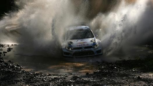 WRC: Volkswagen faz a trinca na Austrália