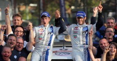 WRC: Sébastien Ogier comemora título com vitória em casa