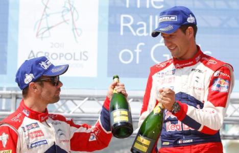 WRC: Sébastien Ogier vence na Grécia