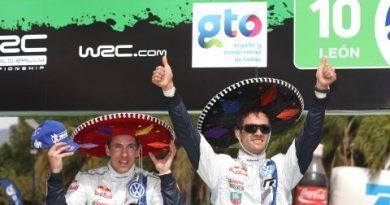 WRC: Sébastian Ogier vence Rally do México