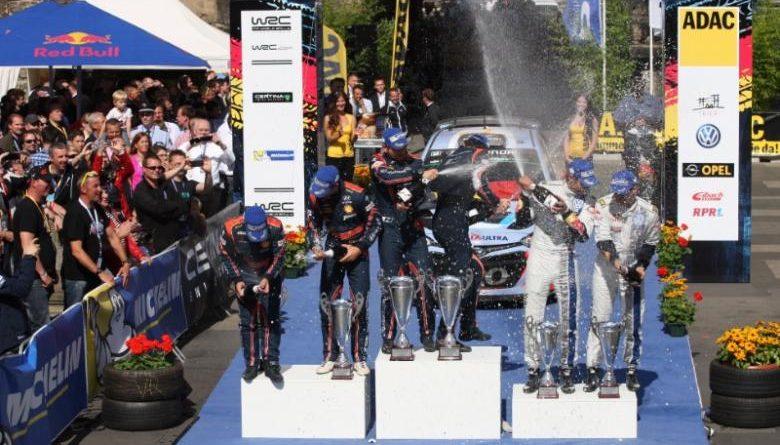 WRC: Thierry Neuville vence Rally da Alemaha