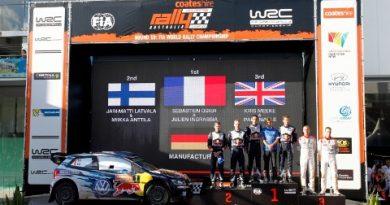 WRC: Sébastien Ogier vence Rally da Austrália e conquista o tricampeonato